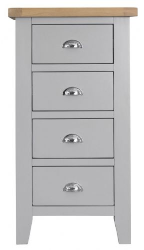 Tunbridge 4 Drawer Narrow Chest